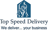 Top Speed Delivery, alternate logo